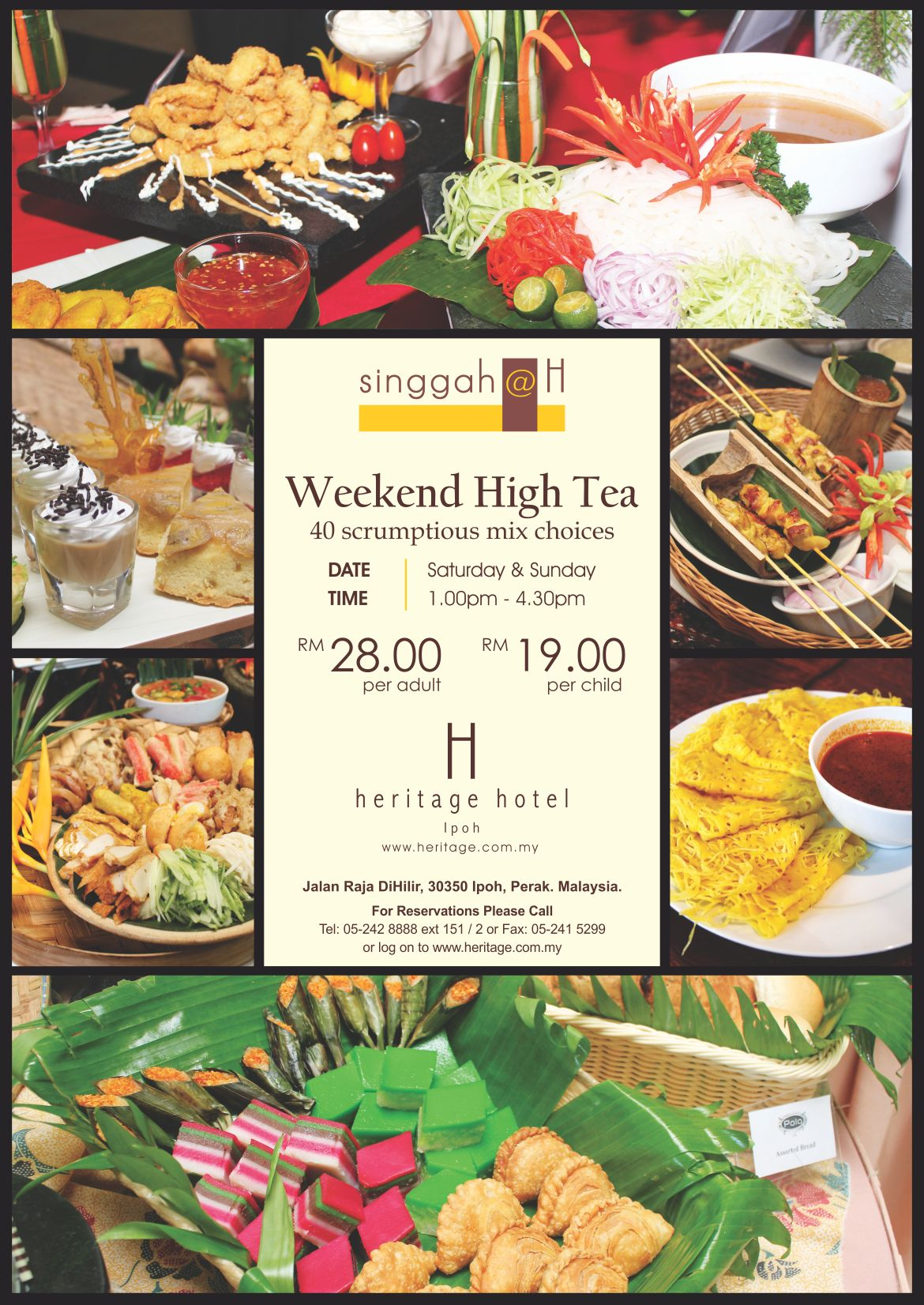 Weekend Hi Tea Special