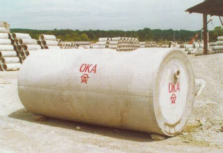 Reinforced Concrete Septic Tank