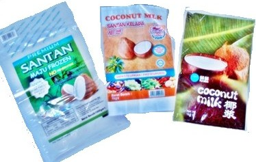 Frozen Food - Santan Coconut Milk minus -18 °C degrees